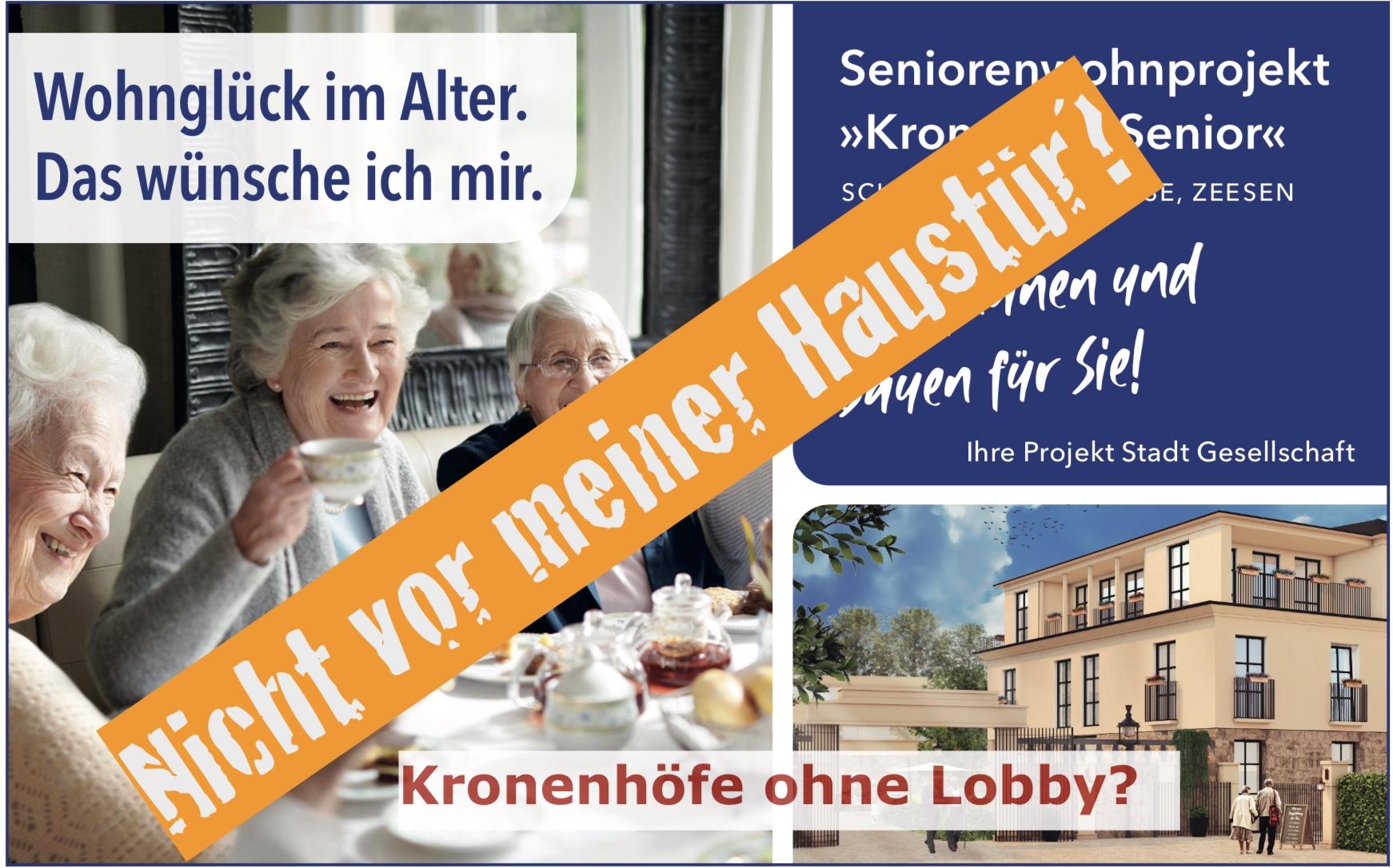 Kronenhöfe ohne Lobby?