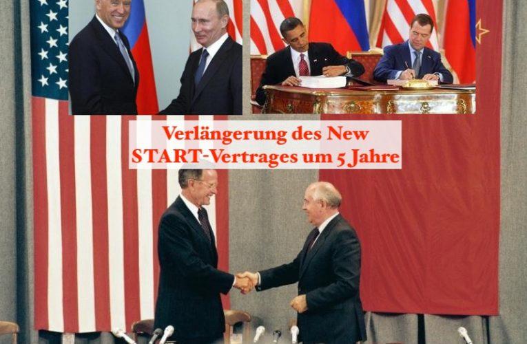 Verlängerung des New START-Vertrages um 5 Jahre